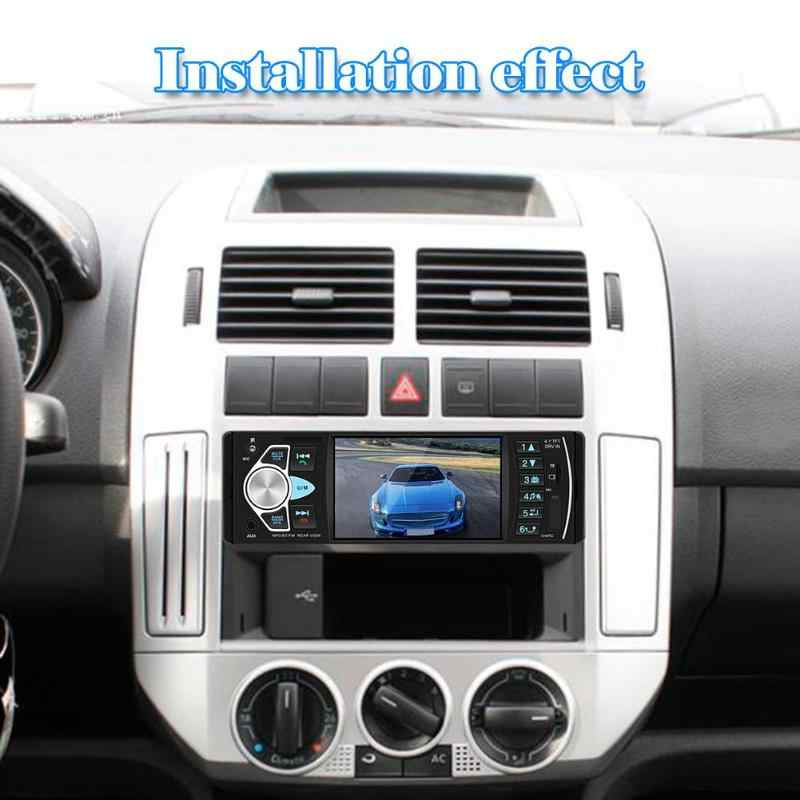 4022D車ステレオMP5 プレーヤーbluetooth usb tfカードuディスクのaux fmサポート反転画像とビデオ出力ラジオ受信機
