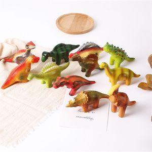 6 Pieces Dinosaur Squishy Toys
