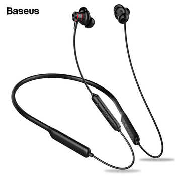 Baseus S12 Wireless Earphone For Phone iPhone Xiaomi Bluetooth 5.0 Headphone Handsfree Wireless Headset Earbud Earpiece With Mic - DISCOUNT ITEM  20% OFF All Category
