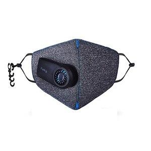 Image 2 - Youpin masque de flux dair purement Anti Pollution Version fraîche PM2.5 filtre Rechargeable respirant avec ventilateur pour le Sport pour adultes