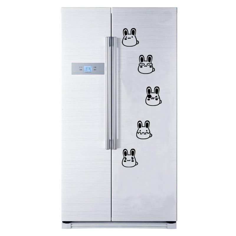 Creative-Black-flower-vine-Wall-Sticker-for-Refrigerator-cabinet-bedroom-decoration-art-Decals-wallpaper-mural-fridge