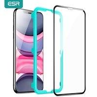 ESR Gehärtetem Glas Für iPhone SE 2020 11 Pro Max/X/XS Max 8 7 Volle Abdeckung Bildschirm protector HD Anti Blau-ray Flim Anti-Glare Glas