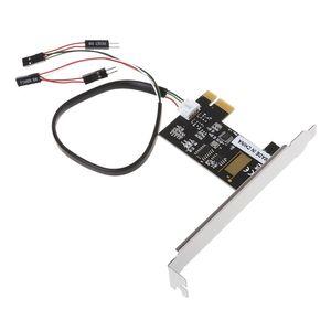 Image 2 - PCI E Desktop PC Fernbedienung 20m Wireless Neu Starten Schalter Drehen Auf Off