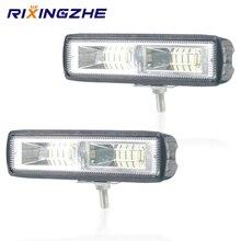 2PCS 12V led 막대 48W Wrok 빛 LED lightbar 2835LED 16SMD 트럭 트랙터 SUV 4x4 자동차 Led 헤드 라이트 조명 자리 작업 막대