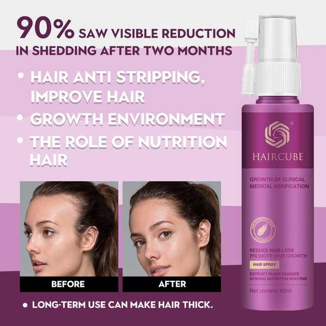 Hair Growth Treatment Spray Anti Hair Loss Essence Serum for Fast Thick Hair Tonic Eyebrows Natural Healthy Hair Loss Treatment 2