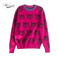 Розовый джемпер с котиками Цена 1587 руб. ($20.45) | 451 заказ Посмотреть