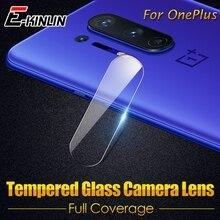 Obiettivo della Fotocamera posteriore Trasparente In Vetro Temperato Per Uno Più OnePlus Nord 8 7 7T Pro 5G 6T 6 5T 5 2 3T 3 Protezione Dello Schermo Pellicola Protettiva
