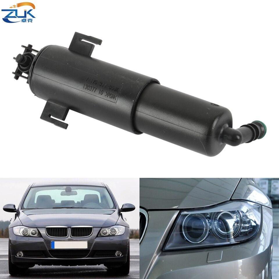 ZUK Front Headlight Washer Nozzle For BMW 3 Series E90 E90 LCI E91 E91 LCI E92 E93 2006-2012 Headlamp Cleaning Jet 61677179311