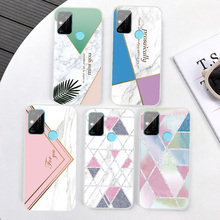 Luxury Clear Marble Phone Case For Huawei Mate 10 20 20X 30 Lite Pro Transparent Soft TPU Silicone Cover For Huawei Mate 8 9 Pro cover case for huawei mate 10 pro soft carbon fiber luxury tpu