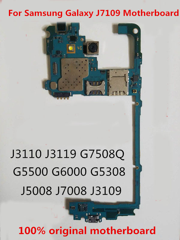 Circuit-Board-Plate Samsung for Galaxy/J7109/Motherboard/.. Unlocked Full-Working 100%Original title=