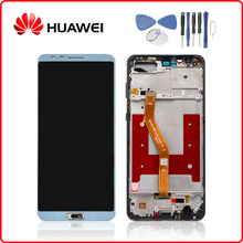Original For HUAWEI Nova 2s LCD Display Touch Screen Digitizer Assembly Huawei with Frame HWI-AL00 HWI-TL00