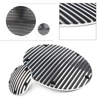 Motorcycle Finned Derby Cover & Timing Timer For Harley Twin Cam Dyna Electra Glide 1996 2013 CNC Aluminum