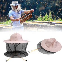 Fabric-Hat Beekeeping-Equipment-Tool Face-Net Anti-Bee-Cap Special-Protective-Cap Cotton