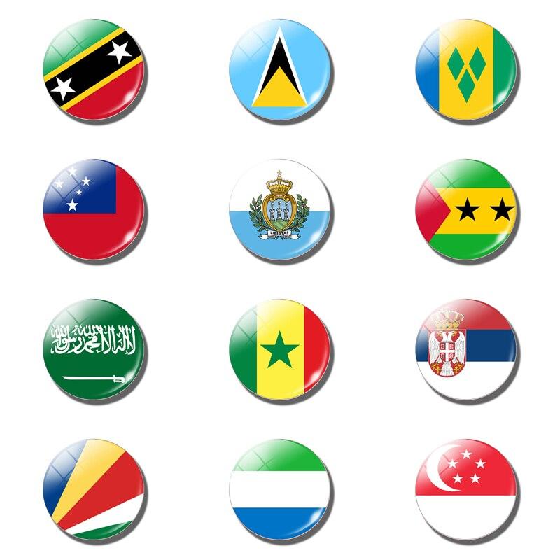 Flag fridge magnet South Africa Spain Sudan Switzerland Sweden Flag fridge magnet souvenir
