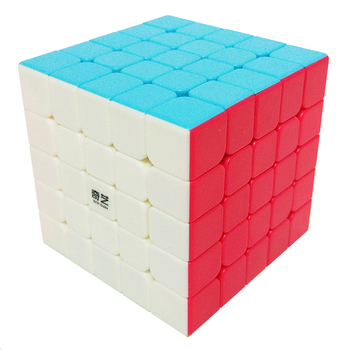 QiYi QiZheng S 5x5x5 Magic Cube Professional Competition Speed Cube Educational Puzzle Cube Toys for Children Beginner tanie i dobre opinie Z tworzywa sztucznego Mini 5 Layers Puzzle Magic Cube 5x5 6 lat Dorośli