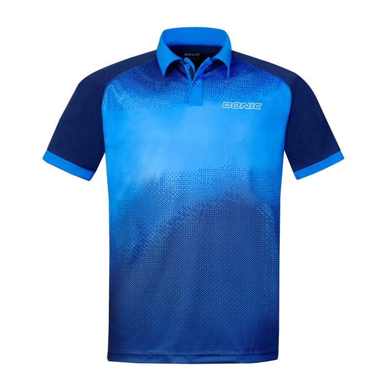 DONIC Table Tennis Jerseys Training T-Shorts Absorb Sweat Comfort Top Quality Ping Pong Shirt Cloth Sportswear