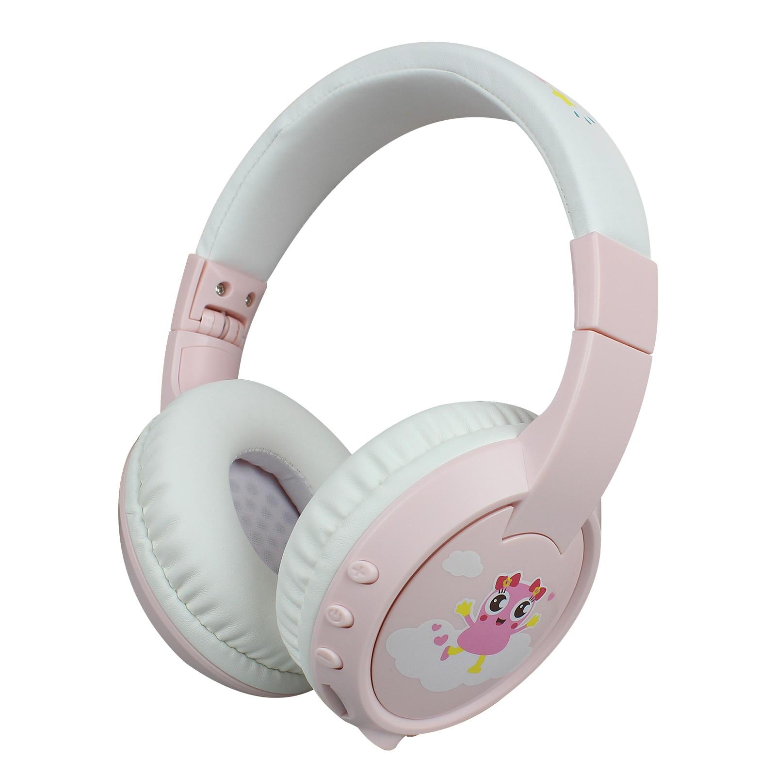 Kinderen Draadloze Headset Bt 5.0 Kinderen Leren/Entertainment Met Microfoon Opvouwbaar Bluetooth Hoofdtelefoon MP3 Muziek 1