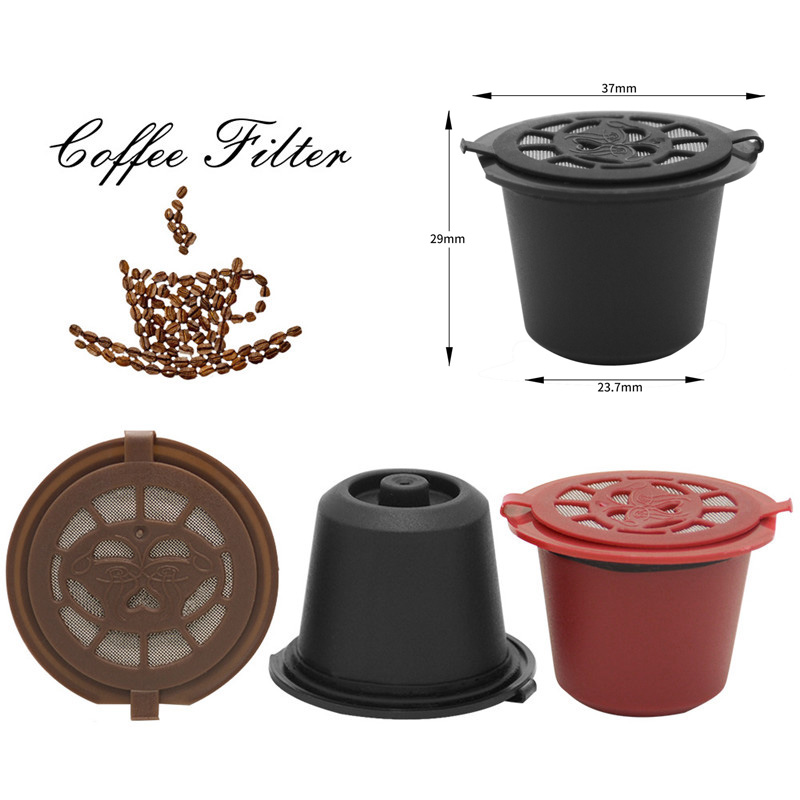 Portable Capsules Coffee Filter Reusable Refillable  Sweet Taste Capsule Dolce Gusto For Tools Accessories Nestle Cafe