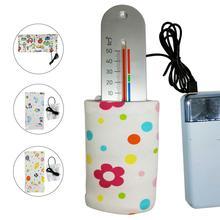 5 в портативный открытый термостат бутылка подогреватель Электрический нагреватель для бутылок Портативный USB молоко согревающий инструмент изоляционный рукав