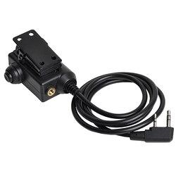 OPSMEN Earmor wojskowy Adapter M51 PTT Airsoft Tactical zestaw słuchawkowy PTT obsługi Kenwood telefon słuchawki akcesoria darmowa wysyłka w Taktyczne zestawy słuchawkowe i akcesoria od Sport i rozrywka na