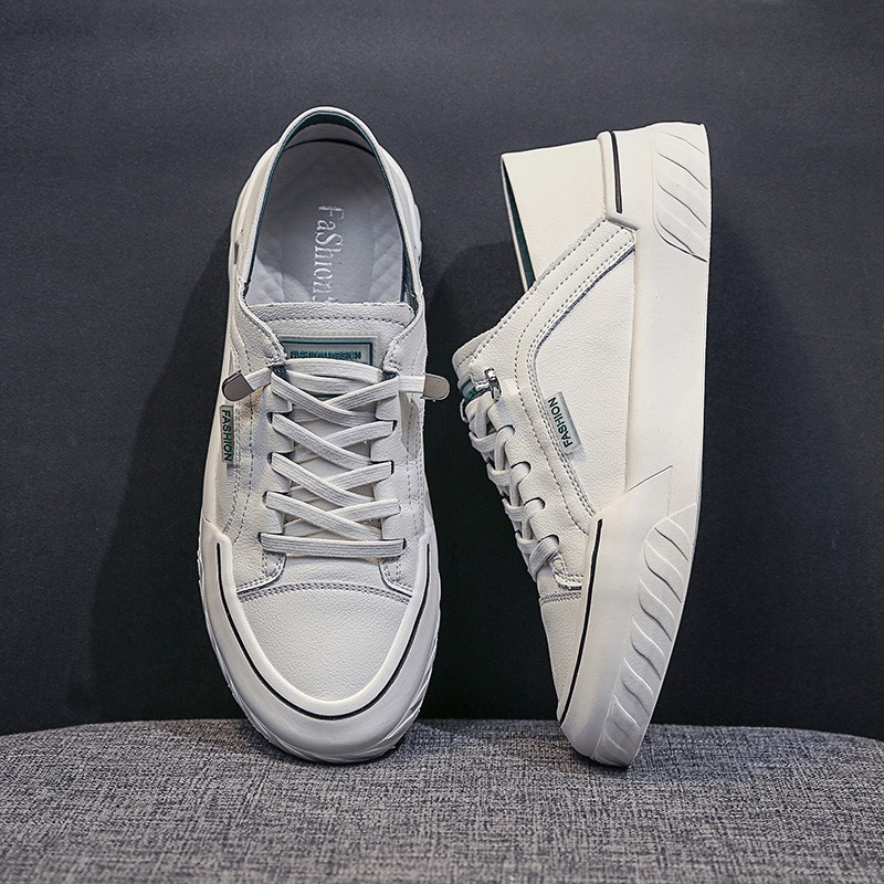 Women's Vulcanized Shoes Lace-up White Sneakers Women Casual Shoes Flats Platform Sneakers Spring Autumn Ladies Shoes