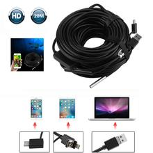 Endoscope Camera Car-Inspection with 720P HD Waterproof for Android Pc-Pipe 20M Cable