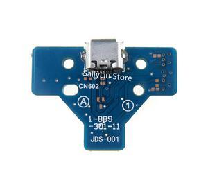 Image 5 - 50pcs JDS 055 050 001 011 030 040 USB พอร์ตชาร์จ Socket Power Charger Board 12PIN สำหรับ Playstation 4 PS4 Pro Controller