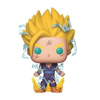 Dragon Ball Z Super Saiyan 2 Gohan 518 # figuras de acción de vinilo muñeca coleccionable en miniatura juguetes para Navidad cumpleaños regalos