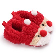Baby Shoes Christmas Gifts Lovely Newborn Girl Boys Fashion Toddler First Walkers Infant Kid Prewalker Babe Loafers