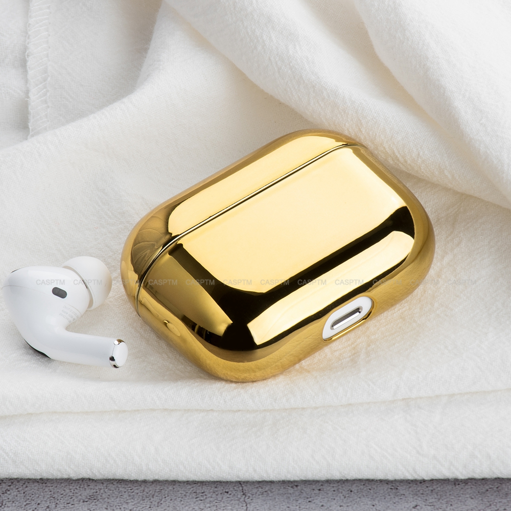 Earphone Case For AirPod Pro 2019 Hard PC Electroplate Protective Headphone Case Charging Box For Apple Airpods 3 Accessories