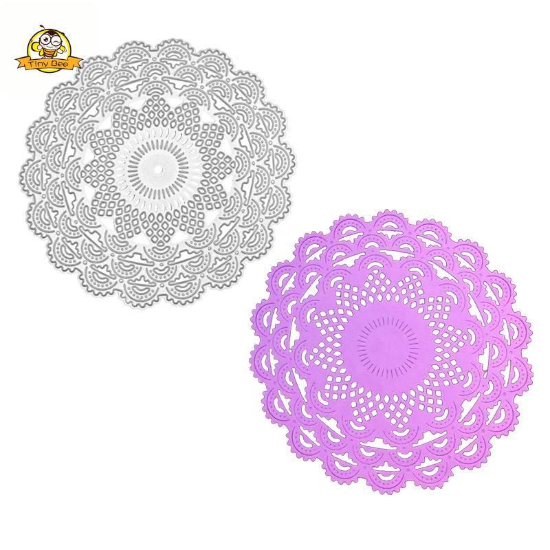 Circle Flower Metal Cutting Dies Stencils for Scrapbooking/photo Album stamps Decorative Embossing DIY Cards