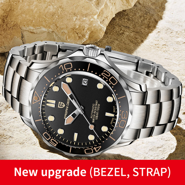2021 New PAGANI DESIGN 007 Men's Mechanical Watches Brand Luxury Automatic Watch Men Waterproof Wristwatch Japan NH35 Clock man 2