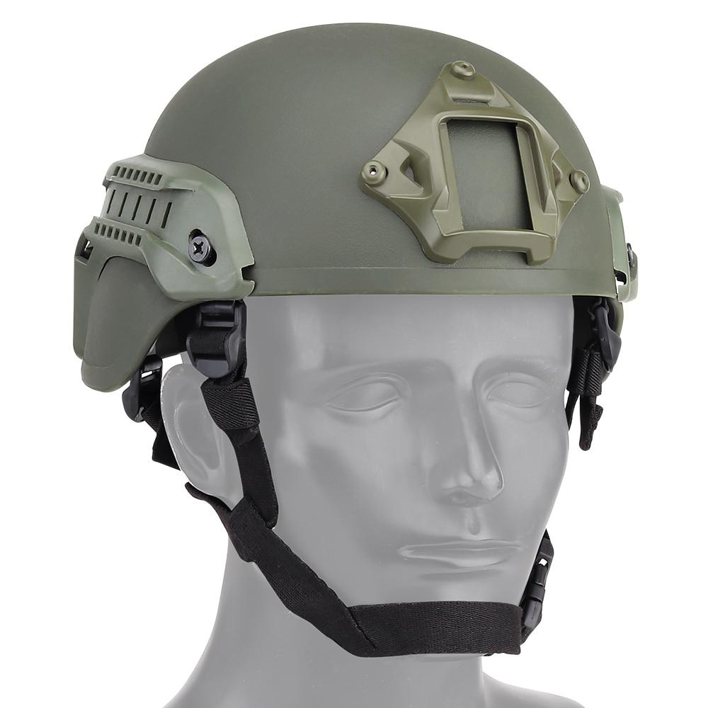 MICH2000 Casque Militaire Airsoft Tactique SWAT Paintball Sécurité Protection F