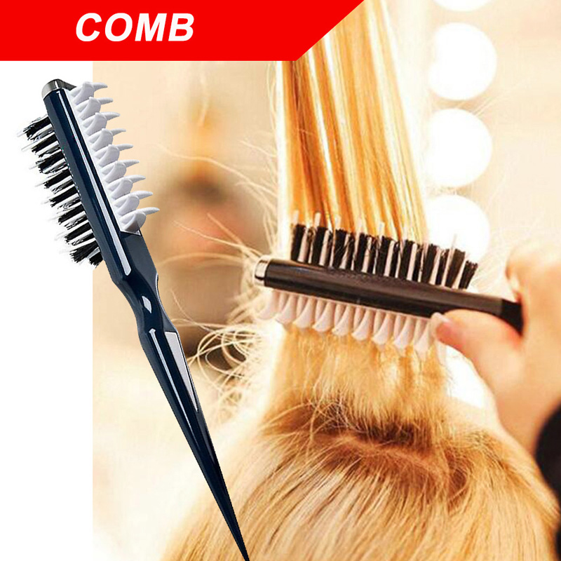1PC Volumia Style Comb Instant Hair Volumizer Comb Sharks Back Combing Brush Hair Style Tool