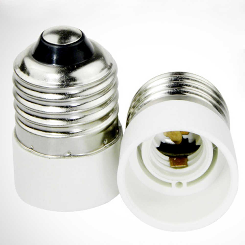new E27 to E14 Lamp Holder Converter Lighting Bulb Converter Socket Conversion Fireproof Material