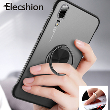 Elecshion Phone Ring Mobile Holder Stand For iPhone Finger Round Magnetic Car Accessories Android Tablet