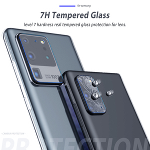 Image 4 - Szkło do aparatu Samsung Galaxy S20 Ultra S20 Plus szklana osłona obiektywu do Samsung S20Ultra uwaga 10 Plus S10 5G S20 Film