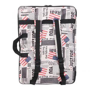 Image 5 - Многофункциональная водонепроницаемая сумка для рисования, удобная уличная сумка для эскизов с ремешком, принадлежности для рисования