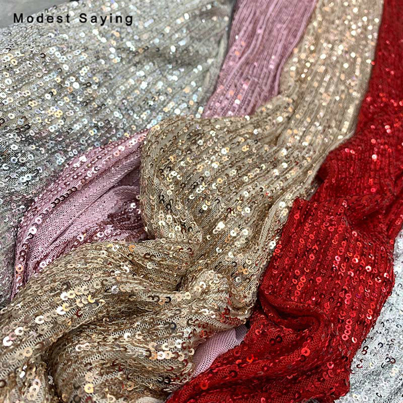 2019 Champagne Scales Sequins Fabric For Evening Dresses Wedding Party Sparkly Dense Mini 3mm Sequins Cloth DIY Photo Backdrop