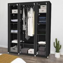 Fabric Closet Wardrobe Cabinet Cloth Folding Multi-Purpose Simple DIY Non-Woven Combination
