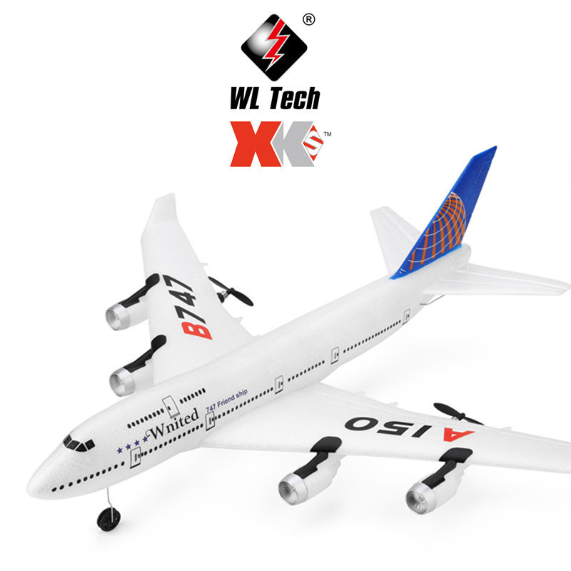 Weili XK A120-a380 A150 Boeing B747 Aircraft Three-Channel Xiang Zhen Ji Glider Remote Control Aircraft