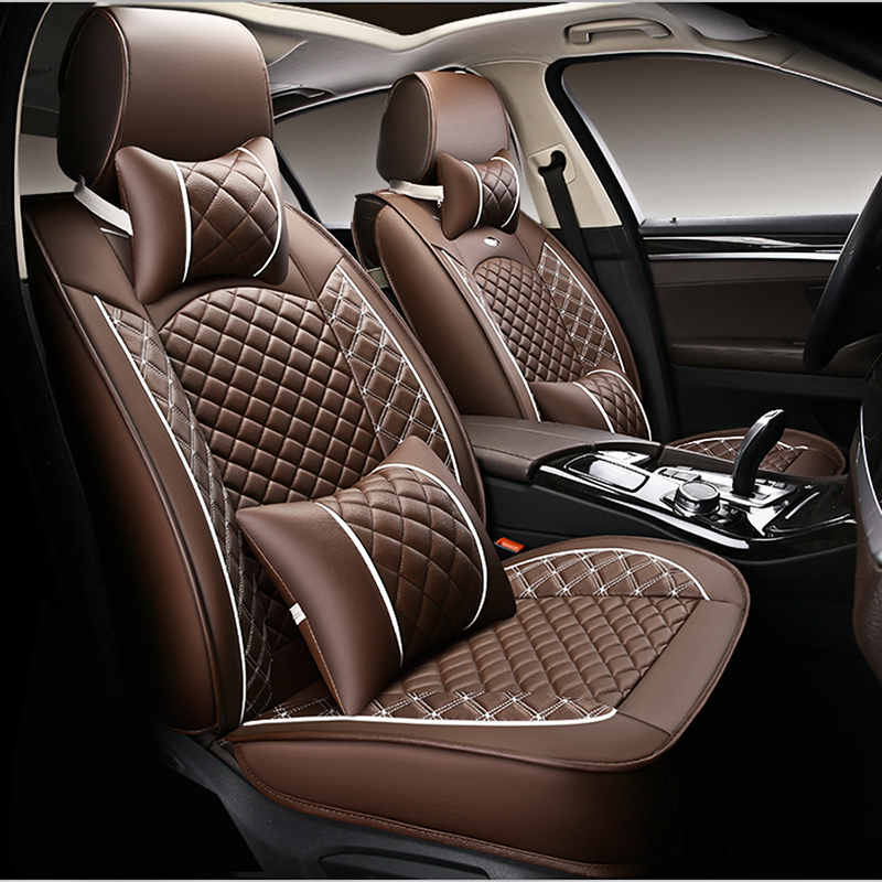 WLMWL Universal Leather Car <font><b>seat</b></font> <font><b>cover</b></font> for <font><b>Mazda</b></font> all models <font><b>mazda</b></font> <font><b>3</b></font> 5 6 cx7 <font><b>cx</b></font>-5 MX-5 <font><b>cx</b></font>-<font><b>3</b></font> car accessorie car styling image