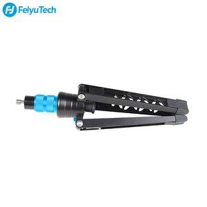 Image 5 - FeiyuTech karbon Fiber kamera Monopod 4 Section çok fonksiyonlu Video Monopod tabanı için tasarlanmış DSLR kameralar/Gimbal sabitleyici