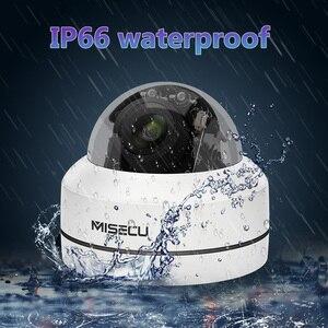 Image 5 - MISECU H.265 1080P PTZ IP kamera 4X Zoom Mini hız Dome Metal açık su geçirmez 2MP POE CCTV güvenlik Onvif p2P IR 40M kamera