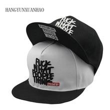 цена на 2019 New Fashion Snapback Baseball Cap Flat-Wide Brim Hat Hat Visor Wild Personality Hip Hop Hats For Men Women Caps