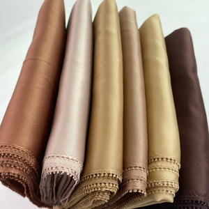 women Matte Silk Satin eyelash hijabs Shawl Long size Plain Shawls Women Dress Hijab Pashmina solider color satin scarf