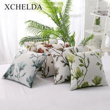 Чехлы для подушек с вышивкой 45x45 Чехлы для подушек Cojines диванная Декоративная Наволочка украшения для дома