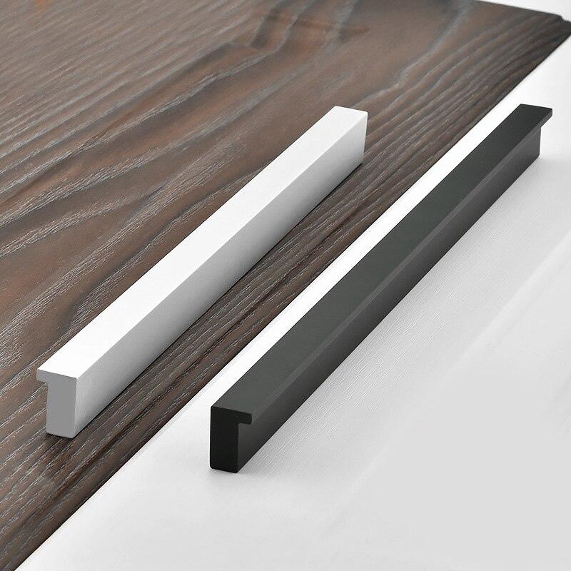 Мебельные ручки из нержавеющей стали, L-образные ручки для мебели, черные ручки для шкафа и ручки, тянущиеся для фототехники