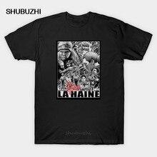 T-shirt en coton homme, à la mode, film de police la haine, film de crime, paris par untagged_shop