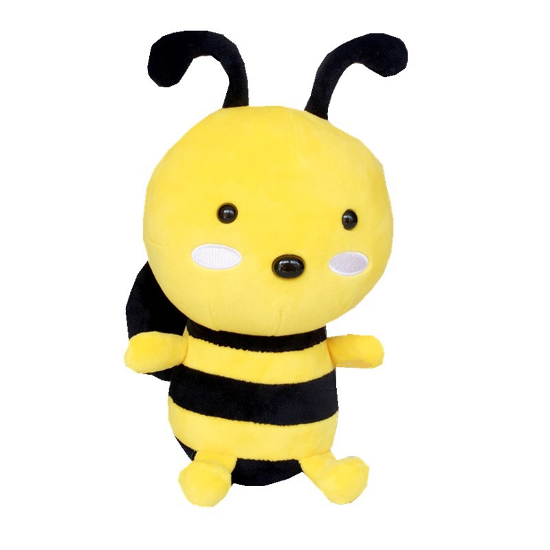 <font><b>20</b></font>-45cm New Cute Little Bee Plush Toys Valentine's <font><b>Day</b></font> Present Stuffed Animal Baby Kids Dolls Pillow Toys for Children image